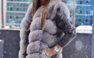Женский меховой жилет – тенденции, с кожаными рукавами, капюшоном, длинные, из натурального меха, песца, лисы, чернобурки, с чем носить?