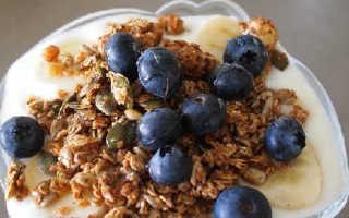 Гранола – рецепты в домашних условиях с медом, бананом, в микроволновке и на сковороде