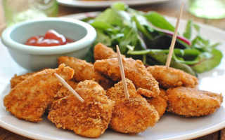 Наггетсы – рецепты в домашних условиях из куриного филе, рыбы или индейки
