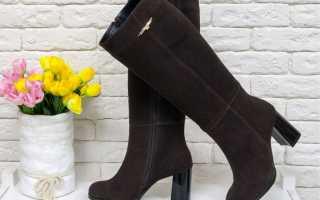 С чем носить коричневые сапоги – замшевые, кожаные, на каблуке, танкетке, платформе, ботфорты, высокие, образы, с платьем, шубой, курткой