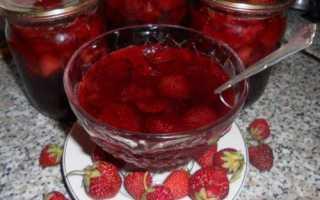 Варенье из лесной клубники – рецепты на зиму с целыми ягодами, с хвостиками, в мультиварке и перекрученное через мясорубку