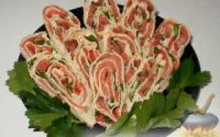 Рулет из лаваша с красной рыбой – рецепты разных начинок из семги, горбуши консервированной, лосося или форели с сыром
