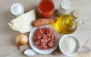 Тушеная капуста с фаршем – рецепты на сковороде, в духовке, мультиварке, с рисом и картошкой