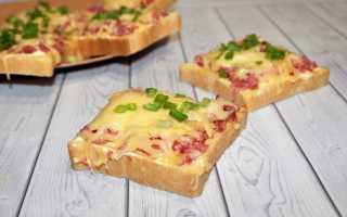 Бутерброды в микроволновке с колбасой. сыром, яйцом – вкусные и быстрые рецепты на завтрак