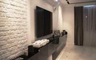 Кирпичная стена – особенности использования на кухне, в гостиной, спальне, прихожей, ванной и других комнатах
