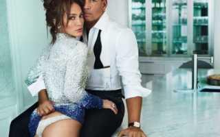 Дженнифер Лопес и Алекс Родригес журналу Vanity Fair дали первое совместное интервью