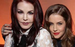 Лиза Мария Пресли впервые после скандала вышла в свет с тремя дочками