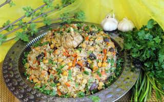 Постный плов с овощами – рецепты блюда с грибами, баклажанами, нутом и булгуром