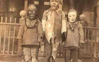 20 фото из прошлого, которые докажут вам, что раньше Хэллоуин был страшнее