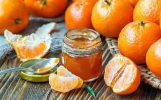 Варенье из мандаринов – рецепты из целых плодов, мякоти дольками или из кожуры