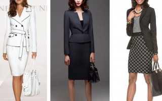 С чем носить женский пиджак с баской – модные тенденции, образы с юбкой, брючным костюмом