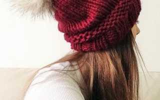 Красивые шапки для девушек – с отворотом, ушками, ажурная, из толстой пряжи, чалма, трикотажные, объемные, с вышивкой, бини, вязаные