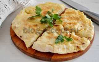 Рецепт хачапури с сыром в духовке из дрожжевого, слоеного теста и лаваша