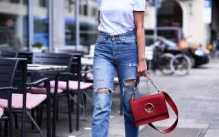 Модные женские джинсы 7/8 – широкие, зауженные, с высокой талией, подворотом, потертостями, черные, синие