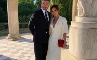 Дэвид и Виктория Бекхэм поделились с фанатами тем, как они отпраздновали годовщину свадьбы