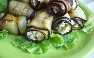 Рулетики из баклажанов с сыром и чесноком – рецепты начинки с орехами, брынзой, моцареллой, творожным, сливочным и плавленным сыром