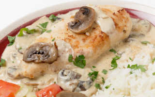 Грибы в сметанном соусе – рецепты с куриной грудкой, картошкой, макаронами и говядиной
