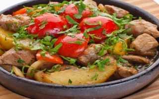 Оджахури – рецепты по-грузински из свинины, телятины, курицы и индейкки