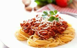 Паста с фаршем – рецепты болоньезе, карбонары, спагетти с томатом, сливками и другими соусами