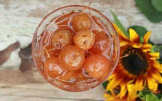 Прозрачное варенье из ранеток с хвостиком – рецепты прозрачного лакомства из целых райских яблок