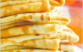 Постные блины на дрожжах – рецепты на воде, картофельном отваре, с манкой и гречневой мукой