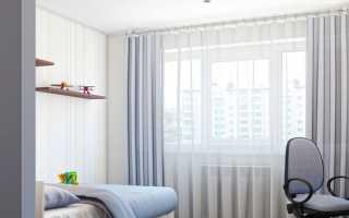 Занавески в детскую комнату для девочки – оформление тюли для спальни подростка