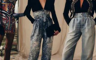 Модные женские джинсы-бананы – черные, светлые, рваные, укороченные, с высокой талией, как должны сидеть, кому идут, с чем носить?
