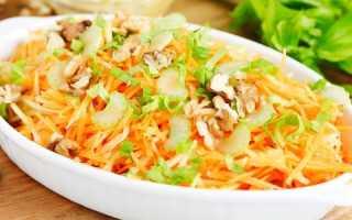 Салат из моркови и яблока – витаминные рецепты с тыквой, капустой, топинамбуром