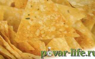 Чипсы из лаваша в духовке, микроволновке и на сковороде – рецепты с сыром, сметаной, паприкой