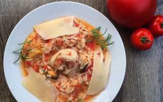 Ризотто с морепродуктами – рецепты с грибами, курицей, в сливочном и томатном соусе