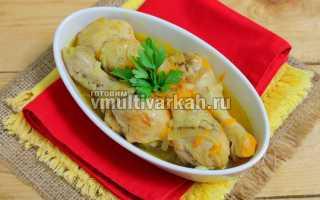 Куриные ножки в мультиварке – рецепты жареных и тушеных блюд, плова, супа и холодца