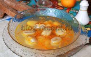 Суп с пельменями и с картошкой, сыром, грибами, лапшой – китайский и узбекский рецепты