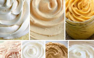 Крем для торта из сливок 33 процента – рецепты со сгущенкой, сметаной, творогом и сыром
