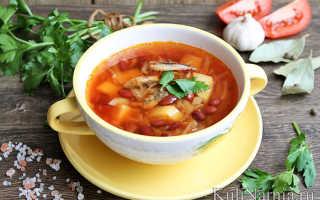 Суп из кильки в томатном соусе – рецепты борща, щей, солянки и окрошки