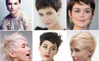 Короткие женские стрижки 2020 – каре, боб, пикси, асимметричные, рваные, с выбритыми висками, для полных, 40 летних, с челкой
