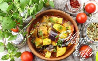 Соте из баклажанов на зиму – рецепты с кабачками, помидорами, в мультиварке и в духовке