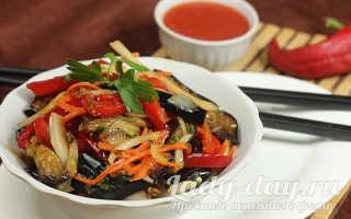 Баклажаны по-корейски – самые вкусные рецепты быстрого приготовления салата, хе и супа