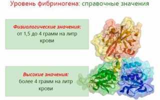 Фибриноген выше нормы – что это значит, что это такое, что делать? Фибриноген в крови – норма у женщин
