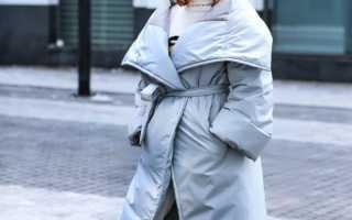 Серый пуховик – длинный, короткий, с мехом, оверсайз, приталенный, кокон, одеяло, шарф, шапка, сумка