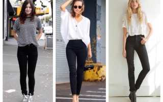 Красивые женские джинсы с дырками – черные, белые, синие, бойфренды, скинни, с завышенной талией, с дырками на коленях, сзади