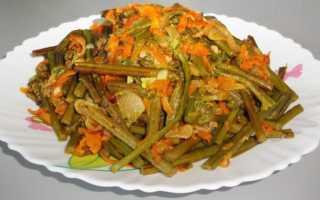 Папоротник по-корейски – рецепты приготовления салата, острого маринованного папоротника, с мясом и морковью