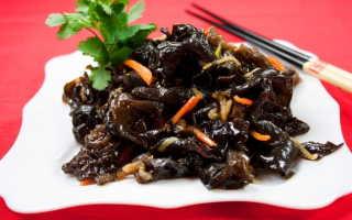 Китайский салат – рецепты с лапшой, сырой картошкой, свиными ушами и из древесных грибов