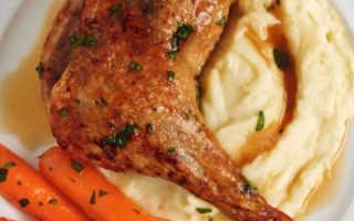 Окорочка в духовке – рецепты запеченных куриных и утиных ножек с хрустящей корочкой