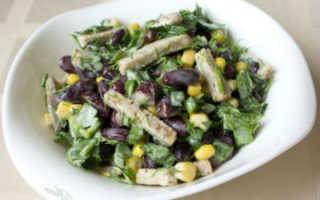 Постные салаты быстро и вкусно – рецепты с грибами, авокадо, фасолью и сухариками