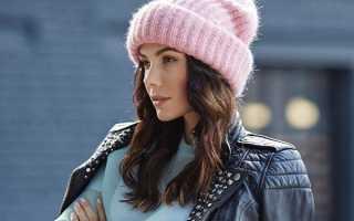 Женские модные шапки 2020 года – вязаные, объемные, бини, носок, молодежные, с люрексом