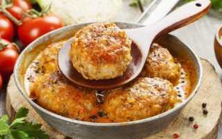 Мясные биточки – рецепты из куриного, свиного, говяжьего фарша, с подливкой и в духовке