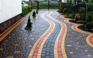 Тротуарная плитка – как правильно выбрать, сделать своими руками, правильно уложить и ухаживать?