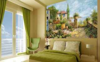 Фреска на стену – какую выбрать для гостиной, спальни, прихожей, кухни и детской комнаты?