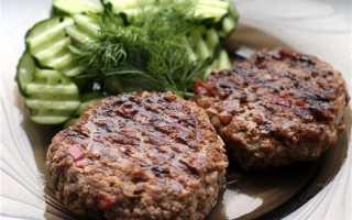 Бифштекс из фарша – рецепты из свинины, говядины, курицы, в духовке и на гриле