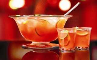 Крюшон – вкусные рецепты с апельсином, арбузом, вином, шампанским и без алкоголя